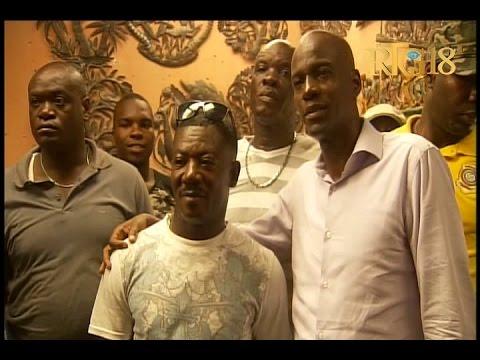 Le Président de la République, Jovenel Moïse a visité le village Artistique de Noailles.