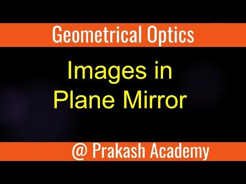 Geometrische Optik: Bilder im Planspiegel