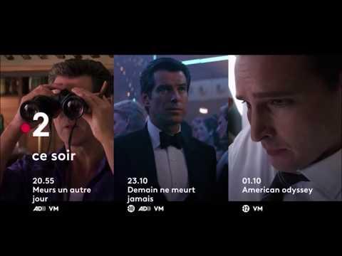 Soirée France 2 (Demain est un autre jour + Meurs un autre jour + American Odyssey) - 5 Août 2018