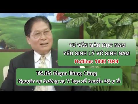 Bác sĩ Phạm Hưng Củng tư vấn mãn dục nam.