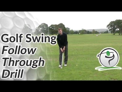 Golf Swing Follow Through Drill