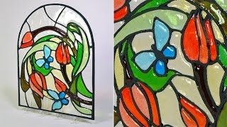 This is an introduction to my Isomalt Stained Glass Technique tutorial at Yeners Way. To see the full tutorial, please visit the following link...https://www.yenersway.com/tutorials/techniques/isomalt-stained-glass-technique/