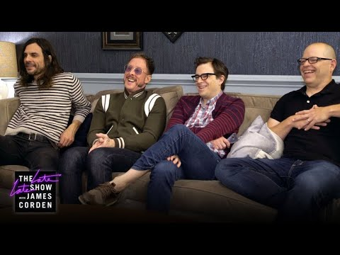 Weezer Plays Name That Tune with their own songs.