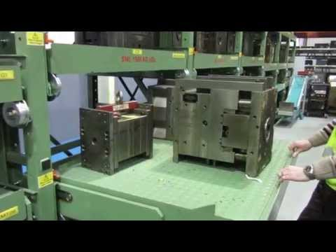 Pull Out Mould Tool Racking System