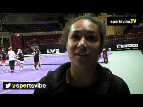 Heather Watson Talks About Her Mixed Year, Inspirational Murray & 2014 Aims