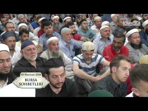 04 Haziran 2016 Tarihli Bursa Sohbeti