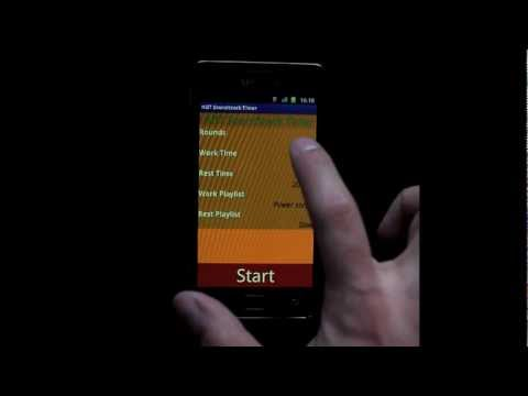 Video of HIIT Soundtrack Timer