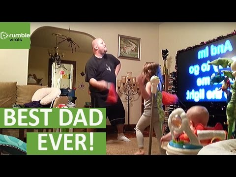 MOM captures what really goes down when she leaves Dad with the kids!
