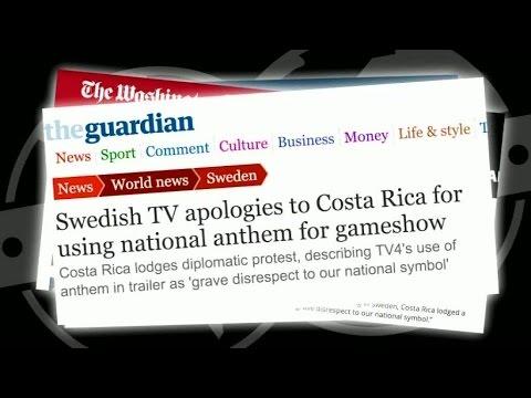 Costa Rica rasar mot Parlamentet – Parlamentet (TV4)