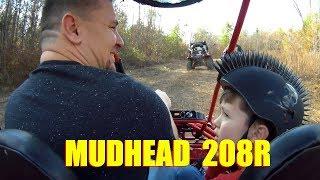 4. Hammerhead Mudhead 208R Trail riding