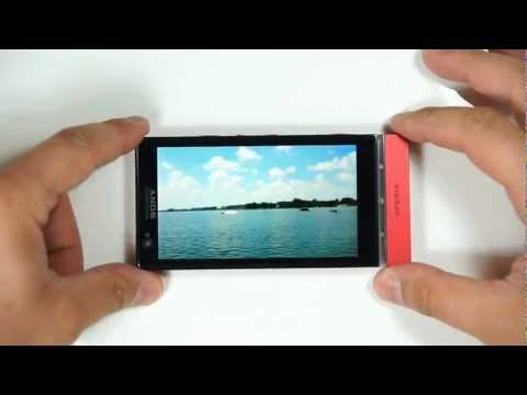 how to use xperia u camera