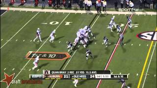 Nick Marshall vs Ole Miss (2014)