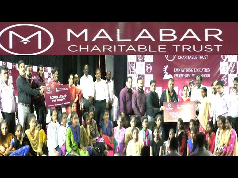 Empowering Education Scholarship to Girl Students Distributing by Malabar gold & Diamonds in Visakhapatnam,Vizagvision...