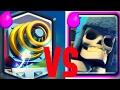 Sparky VS Giant Skeleton   Epic battle   Clash Royale  