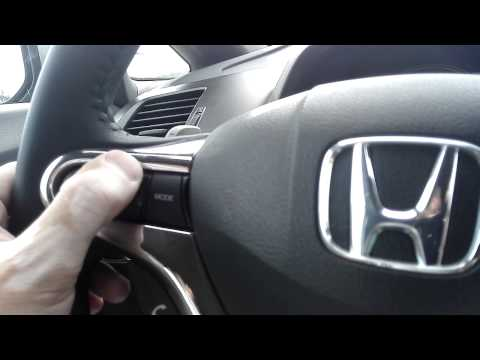 Кнопки на руле honda civic 4d фотография