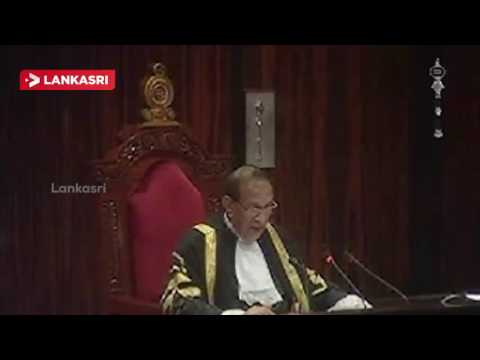 Speeker-Annoncement-in-Parliment