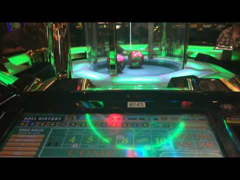 LIVE Craps Game at the Excalibur, Las Vegas NV