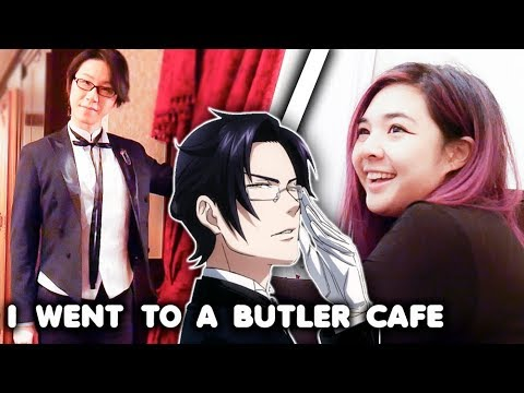 I Went to a Butler Cafe. (видео)