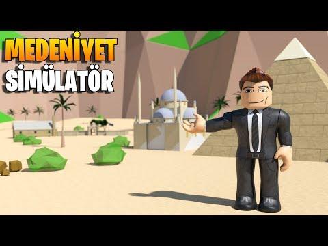 🏺 Kendi Medeniyetimizi Kuruyoruz! 🏺 | Civilization Simulator | Roblox Türkçe