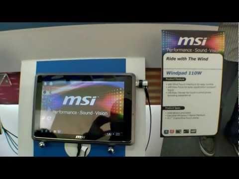 Erstes Hands On mit dem MSI WindPad 110W AMD Tablet