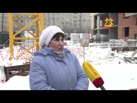 """Продолжается строительство домов микрорайона «Кувшинка» для жителей сносимого """"Шанхая"""""""