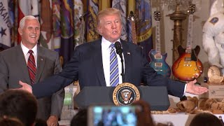 President Trump reached six months in office Thursday, and much has happened since he was sworn in Jan. 20th.