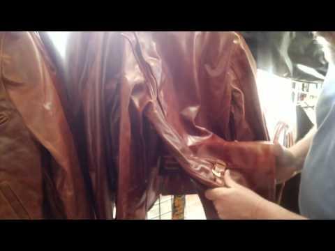 Mike talks leather