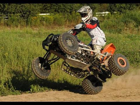quad - http://facebook.com/MarkFreeman408 http://twitter.com/MarkFreeman408 FAVORITE THIS VIDEO! Thanks. Goon Riding down at the Freeman Compound on my KTM 450 SX F...