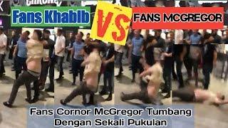 Video Fans Khabib Nurmagomedov Dan Fans Cornor McGregor Rusuh Saling Pukul MP3, 3GP, MP4, WEBM, AVI, FLV Desember 2018