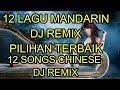 12 Lagu mandarin DJ Remix Pilihan Terbaik chinese DJ歌曲