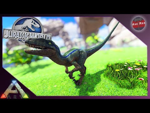 BLUE IS ALIVE AND IN THE PARK !! | ARK SURVIVAL EVOLVED [JURASSIC PARK MOD EP34]
