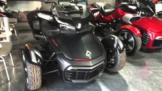 9. New 2016 Can-Am Spyder F3 Limited Special Series in Monolith Black Satin