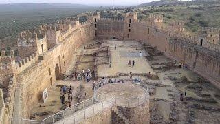 Banos De La Encina Spain  city photo : Baños de la Encina. Castillo de Burgalimar. Arab castle. قلعة Jaén. Spain