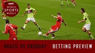 BRAZIL Vs URUGUAY Semi-Final Match FIFA Confederations Cup Brazil 2013 | World Sports Weekly