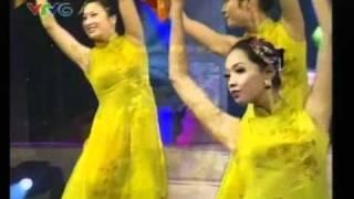 Múa: Lung linh Mai vàng - Hoa khôi sinh viên Hà Nội 2010