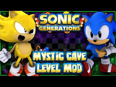 Sonic Generations PC - Mystic Cave Level Mod
