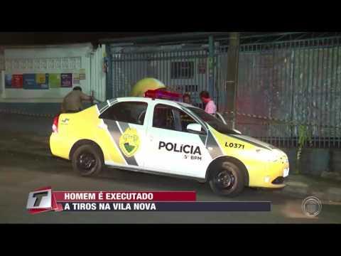 Homem é executado a tiros na Vila Nova