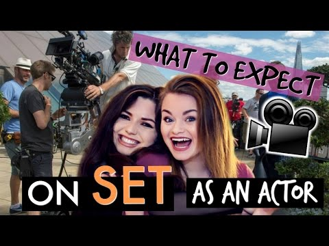 What to Expect ON SET as an Actor! Ft. Mariana