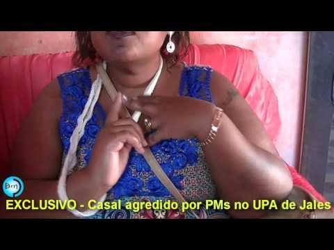 EXCLUSIVO - Casal confirma agressões por PMs de Jales no UPA e Promotor de Justiça determina abertura de Inquérito Policial para apurar os fatos.