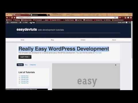 WordPress Development Tutorials – pt 18: Advanced Custom Fields