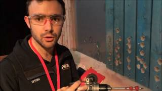 We show you through Milwaukee's ONEKEY Hammer Drill M18ONEPD-0  with a Tool Control Demo on the capabilities of their new OneKey System