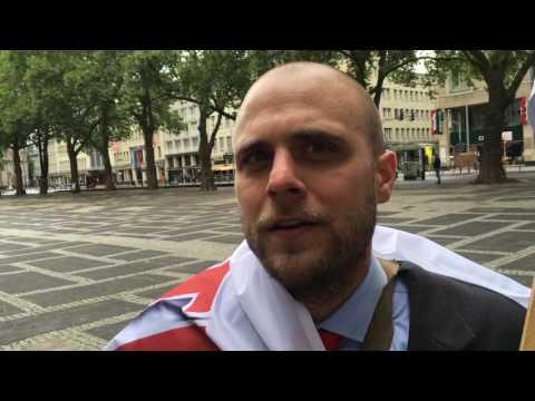 Köln 2016: Die Partei – Demo gegen Demos in Köln
