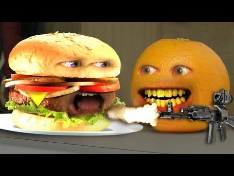 Annoying Orange - Monster Burger! (видео)