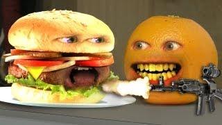 Video Annoying Orange - Monster Burger! MP3, 3GP, MP4, WEBM, AVI, FLV Januari 2018