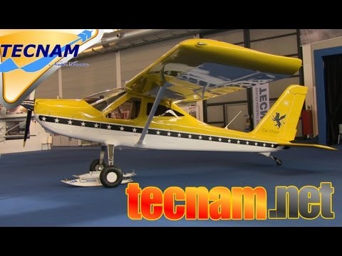 aircraft - http://www.ultralightflyer.com - Video: While at Aero Expo in Friedrichshafen Germany Dan Johnson talks to Phil Solmon of Tecnam North America about the Tecn...
