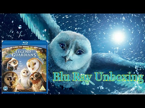 Legend Of The Guardians The Owls Of Ga'Hoole Blu Ray Unboxing