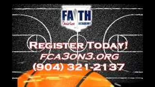 Taking it to the streets! This 30 second clips explains the 3rd Annual Faith Christian Academy 3 on 3 basketball tournament, going...