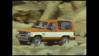 1984 Ford Bronco II Commercial