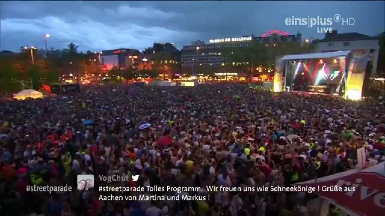 Paul van Dyk - Live @ Street Parade 2014, Zurich, Switzerland