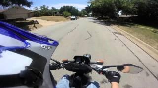 8. Suzuki DR200 Ride